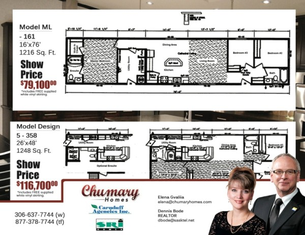 Carnduff Agencies - Chumary Homes | Creative i Custom Brochure Design & Print